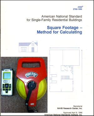 National ANSI Standards For Home Measuring